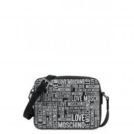 Love Moschino Camera Bag Allover logo Nero - 1
