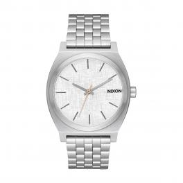 NIXO Orologio Time Teller 37 mm All Silver and Rose - 1