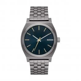 NIXO Orologio Time Teller 37 mm Gunmetal and Indigo - 1