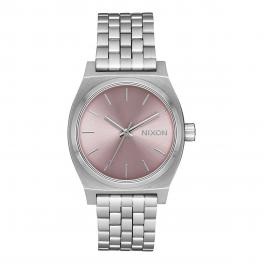 NIXO Orologio Medium Time Teller 31 mm Silver and Pale Lavender - 1