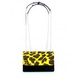 Patrizia Pepe Convertible Mini Crossbody Piping Animalier - 1