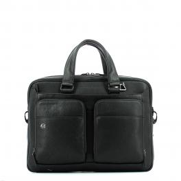 Laptop briefcase Black Square 15.0 Connequ