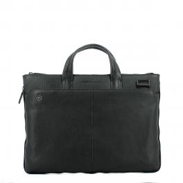 Exp. Slim Briefcase Blue Square 15.6