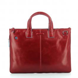 Exp. Slim Briefcase Blue Square 15.6-ROSSO-UN