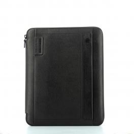 Slim Notepad Holder A4 P15 Plus-NERO-UN