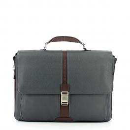 Expandable leather Laptopbag 14.0 - 1