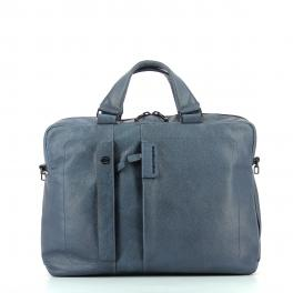 Expandable Briefcase P15 Plus 14.0-BLU-UN
