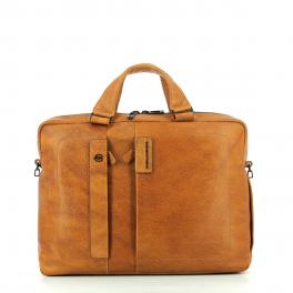 Expandable Briefcase P15 Plus 14.0-CUOIO-UN