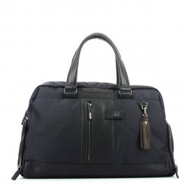 Duffel bag with shoe compartment Brief-BLU-UN