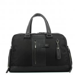 Duffel bag with shoe compartment Brief-NERO-UN