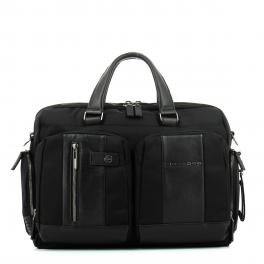 Fast-Check briefcase Connequ Brief 15.6-NERO-UN