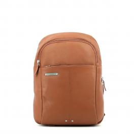 Leather Backpack Medium-CUOIO-UN