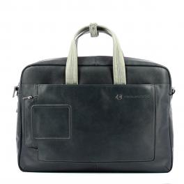 Double handle laptop briefcase Vibe 15.6-BLU/GRIGIO-UN