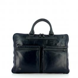 Piquadro Laptop Briefcase with double handles Cube 15.6 - 1