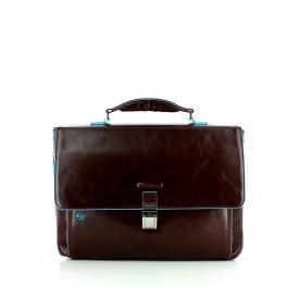 Laptop Briefcase Exp. Blue Square-TM-UN