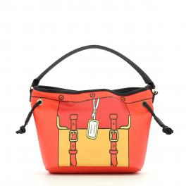 Bucket Bag Grafic-RED-UN