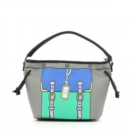 Bucket Bag Grafic-GREY-UN