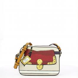 Roberta Di Camerino Camera Bag con grafica - 1