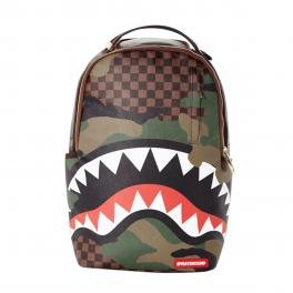 Sprayground Zaino Checkered Camo Shark Limited Edition - 1