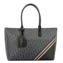 Shopping Bag Vaniglia Large-BLACK-UN