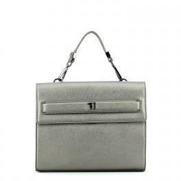 Handbag Paprica Medium-GUNMETAL-UN